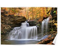 R. B. Ricketts Falls Under Fall's Golden Halo Poster