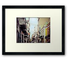Old San Juan Puerto Rico 1 Framed Print