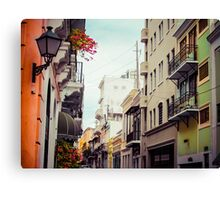 Old San Juan Puerto Rico 2 Canvas Print