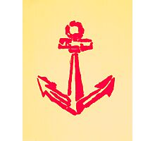 Set Sail - Original Anchor Naval Art Work Photographic Print
