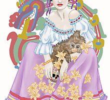 Kahlo's Dulce Vida by redqueenself