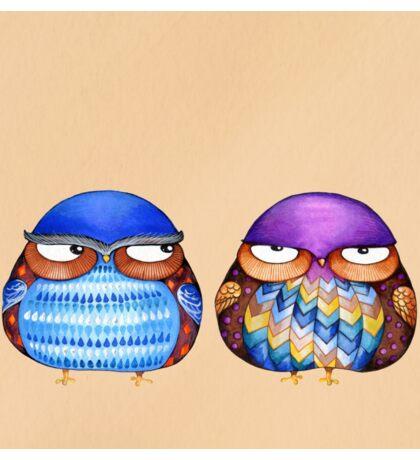 Grumpy Birds Sticker