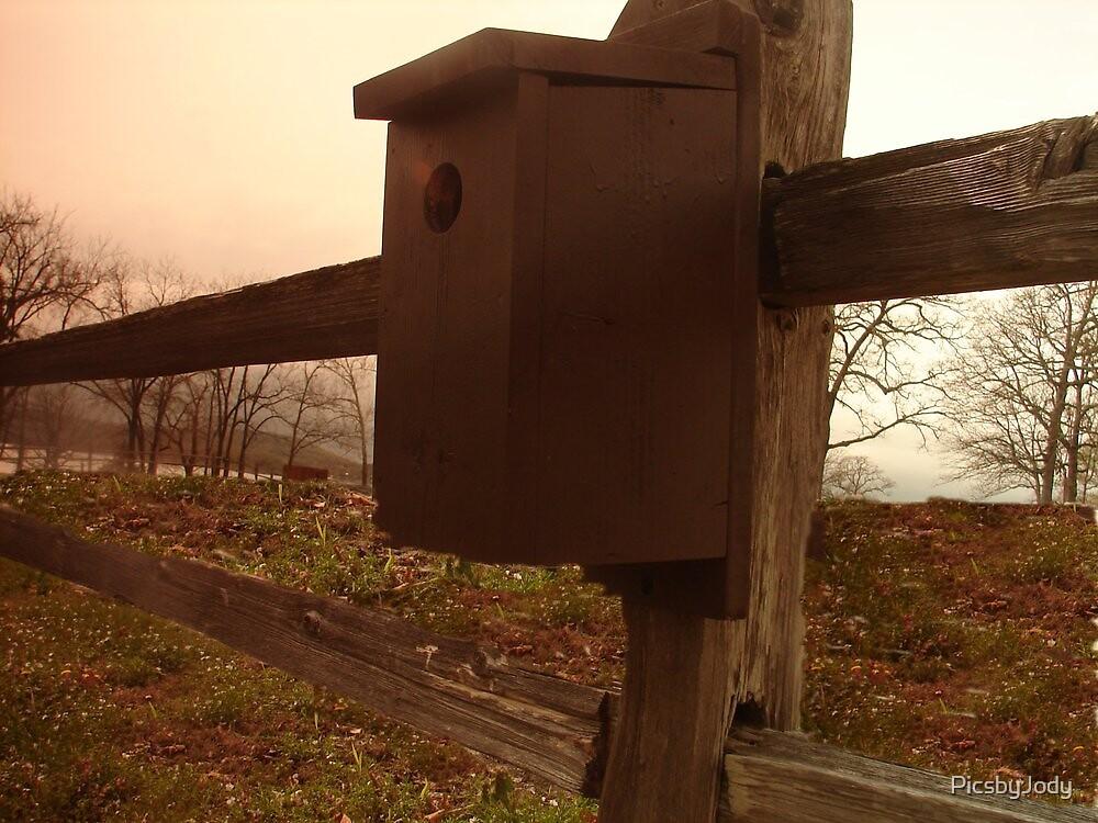 Brown BirdHouse by PicsbyJody