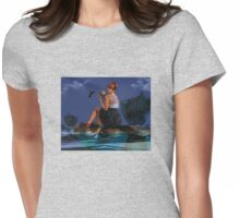 Commute - New Media Surrealism Womens Fitted T-Shirt