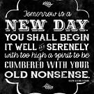 Tomorrow is a new day... by Jeri Stunkard