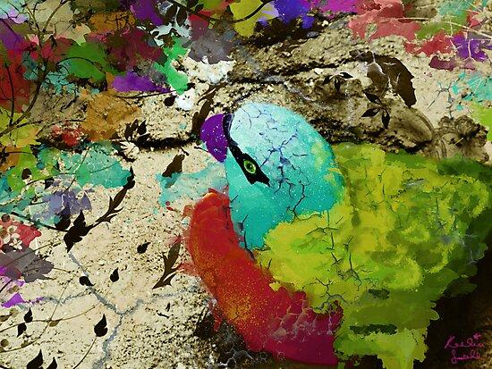 urban parrot by Keelin  Small