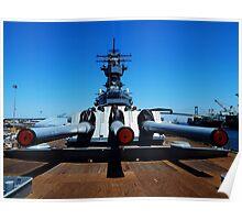 USS Iowa -- 'On Deck' Poster