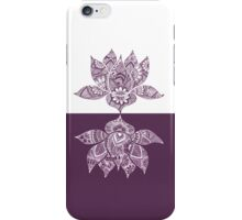 Yin Yang Lotus iPhone Case/Skin
