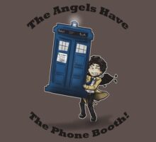 Castiel Has The Phone Booth by Äna Loren