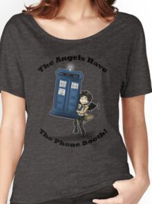 Castiel Has The Phone Booth Women's Relaxed Fit T-Shirt