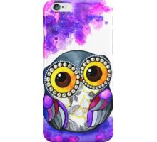 Owl in Purple Blossoms iPhone Case/Skin