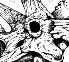 Dino Skull Sticker