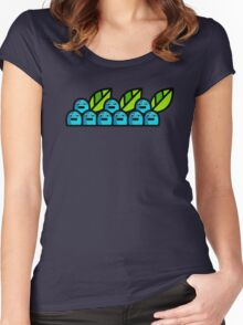 Blueberries  Women's Fitted Scoop T-Shirt