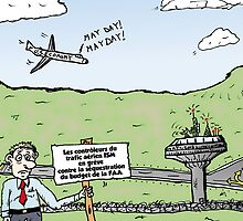 Sequestration FAA caricature by Binary-Options