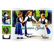 Local Bavarian Girls Poster