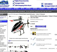 Electric Radio Control Helicopters - 'Carbon' 4 Channels by berrymartin