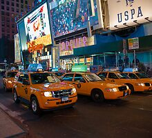Yellow Cab by marty1468