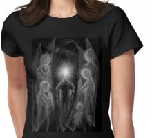 Angels Womens Fitted T-Shirt
