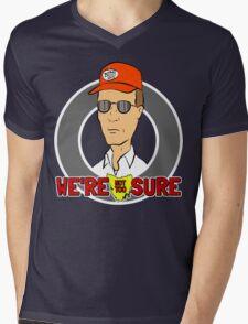 Bennylava - We're Not Too Sure Mens V-Neck T-Shirt