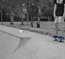 Skater wearing nikes by dminch