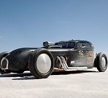 Hot Rod on the salt 1 by Frank Kletschkus