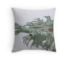Undead horde Throw Pillow