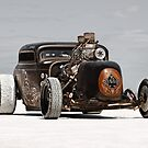 Hot Rod on the salt 3 by Frank Kletschkus