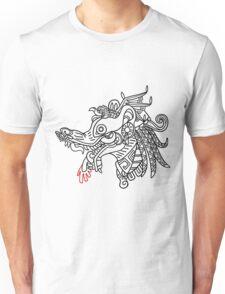 Tlacuache - Black Outline Unisex T-Shirt