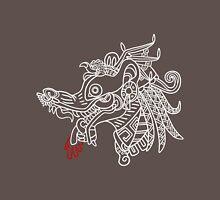 Tlacuache - White Outline Unisex T-Shirt
