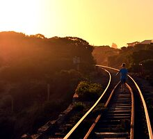 On the right track by dminch