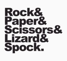 Rock Paper Scissors Lizard Spock by Style-O-Mat