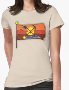 Gravity Falls: Take Back The Falls Womens Fitted T-Shirt