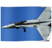 RAAF F/A-18A Hornet  Poster