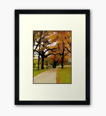 Walk with me © Framed Print