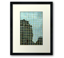 Reflections of Auckland Framed Print