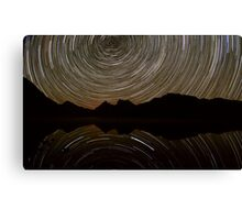 Cradle Mountain Star Trails Canvas Print