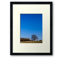 Blue Sky Day England Framed Print