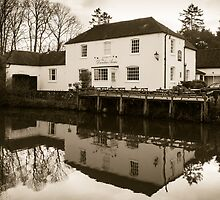 Dundas Arms Kintbury England by mlphoto