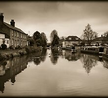 Hungerford Berkshire England by mlphoto