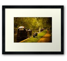 Just Relaxing Framed Print