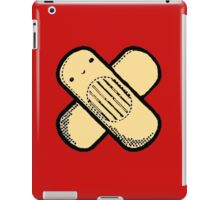 Little Band-aid man (Red) iPad Case/Skin