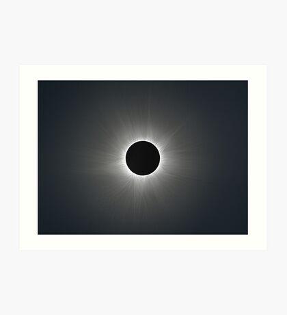 Solar Corona during Total Eclipse Art Print