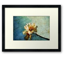 It Was Spring When You Wrote Me The First Letter Framed Print