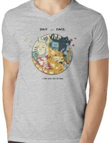 I'm In It For The Music Mens V-Neck T-Shirt
