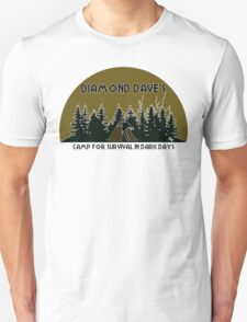 Diamond Dave's Camp For Survival In Dark Days T-Shirt