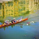 Rowing by EvaMarIza