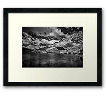 Boatshed, Dove Lake Tas (Infrared) Framed Print