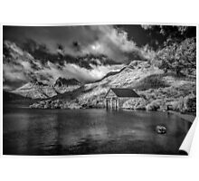 Boatshed, Dove Lake Tas (Infrared) Poster