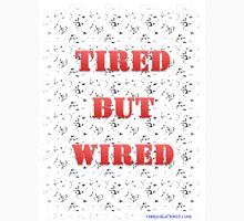 Tired But Wired Men's Baseball ¾ T-Shirt