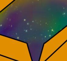 Universe in A Box Sticker
